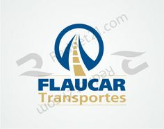 Desarrollo: Sobriedad y síntesis para un anagrama claramente definido como para el rubro de transporte internacional de carga. FLAUCAR Transportes (Uruguay)