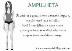 Descrição do tipo ampulheta.