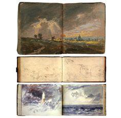 william turner sketchbooks