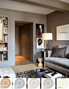 Exclusive Loop colour palette in your living room #decor #homedecor #remodel #DIY #quality #eco #recycled #paint #recycledpaint Find Loop Paint at Walmart's across Canada.