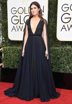 10 Golden Globes Dresses That Gave Us Heart Eyes via @PureWow