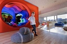 Playground for children design by Studio212. Hotel Platinium/Poland
