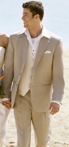 Love the taupe / white combo