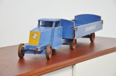 Ado Ko Verzuu toy truck Bouwbedrijf 1942