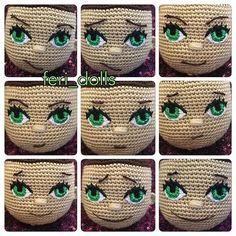 Mesmerizing Crochet an Amigurumi Rabbit Ideas. Lovely Crochet an Amigurumi Rabbit Ideas. Crochet Eyes, Cute Crochet, Crochet Crafts, Crochet Baby, Crochet Projects, Simple Crochet, Scarf Crochet, Crochet Animal Amigurumi, Amigurumi Patterns