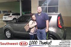 https://flic.kr/p/MeDcpz | #HappyBirthday Kelsey from Quinton Wade Through at Southwest Kia Mesquite! | www.deliverymaxx.com/DealerReviews.aspx?DealerCode=VNDX