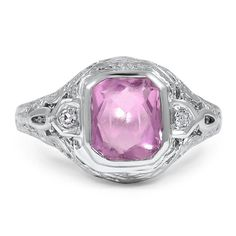 14K White Gold The Shayne Ring from Brilliant Earth