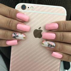27 Melhores fotos de unhas do instagram Pink Nails, Gel Nails, Acrylic Nails, Nail Spa, Manicure And Pedicure, Pretty Nail Designs, Nail Art Designs, Cute Nails, Pretty Nails