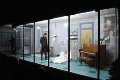 The Hallway Plays - Beowulf Boritt Design #set #design