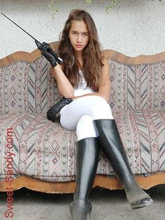 Womens Style Discover Princess Fatale seated on couch in white breeches and black rubber riding boots Equestrian Girls Equestrian Outfits Equestrian Style Equestrian Fashion Sexy Outfits Fashion Outfits Womens Fashion Riding Pants Riding Crop Equestrian Girls, Equestrian Outfits, Equestrian Style, Equestrian Fashion, Sexy Outfits, Girl Outfits, Cute Outfits, Fashion Outfits, Womens Fashion