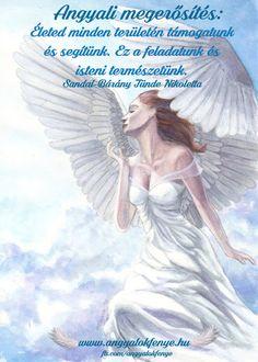 Angyali megerősítés: Életed minden területén támogatunk ~  Angyalok fénye Karma, Disney Characters, Fictional Characters, Angel, Life, Messages, Fantasy Characters, Text Posts