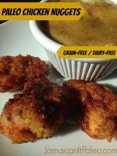 Paleo Chicken Nuggets #JamaicanItPaleo
