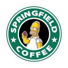 Check out this awesome 'The+Simpsons' design on Simpsons Funny, Simpsons Art, Disney Starbucks, Starbucks Logo, Simpson Wallpaper Iphone, Cartoon Wallpaper, Tumblr Stickers, Cool Stickers, Gaming Tattoo