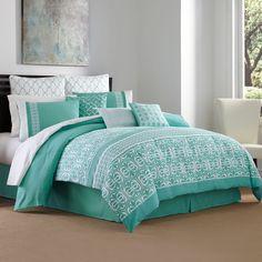 Maya 3-4 Piece Comforter Set - BedBathandBeyond.com