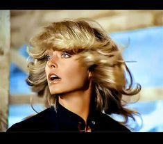 "1977 Beautiful FARRAH FAWCETT /""Charlie/'s Angels/"" 8x10 Photo CANDID CLOSE UP 01"