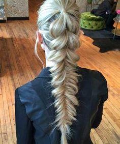 Pull Through Fishtail Hairstyles