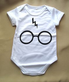 Harry Potter inspired Baby onesie custom printed tshirt 6/9 mo 9/12mo - Little Wizard on Etsy, $15.00