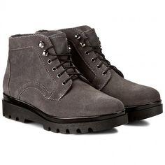 Polokozačky SERGIO BARDI - Eufemia FW127282417DP 809 All Black Sneakers, Combat Boots, Shoes, Fashion, Moda, All Black Running Shoes, Combat Boot, Zapatos, Shoes Outlet