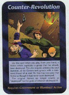 Illuminati card game - Counter Revolution
