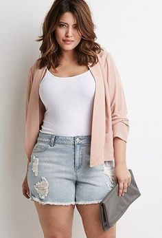 1208ce9c9269 35 Casual Summer Outfits for Curvy Teen Girls