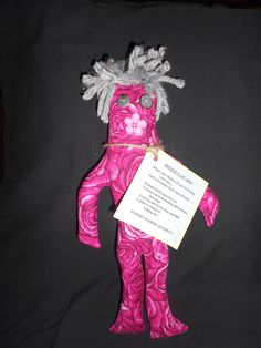 Mother N Law Dammit Doll: poem attached. When your mother-n-law is driving you crazy, and you wanna choke that old lady --- Dammit Doll is just for you. To keep you from making that woman turn blue, grab the doll by her legs and find a place to smack it! Yelling out - DAMMIT-  DAMMIT - DAMMIT!!!  by tobeesgifts, $14.95