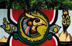 Graffiti Landscape by Branko Tesevic, via Behance
