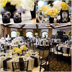 how pretty!! Im not crazy about black at a wedding but this is very elegant and pretty :-)
