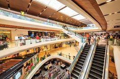 Interior of Central Ladprao Shopping in Bangkok, Thailand