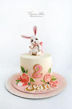 cake with bunny by Alina Vaganova