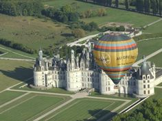 Hot air balloon flight over the Loire Valley (Cheverny) -