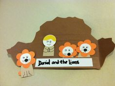 Daniel and the Lions Den Crafts for Kids Daniel In the Lions Den Bible Craft : Craft Books for Kids Bible Study Crafts, Youth Bible Study, Bible School Crafts, Bible Crafts For Kids, Preschool Bible, Vbs Crafts, Church Crafts, Preschool Crafts, Craft Books