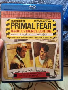 Primal Fear (Hard Evidence Edition) [Blu Blu-ray  | eBay
