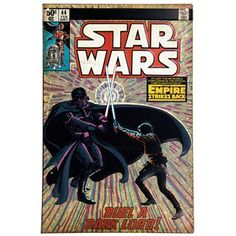 """Star Wars Comic Book Cover #44 Tin Sign $18 Dimensions: Length: 13"""" Width: 8 1/2"""""""