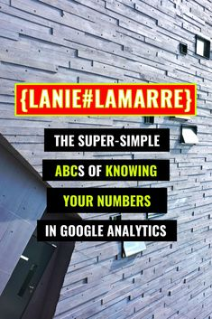 To read Google Analytics as a beginner is intimidating... until now! I break down the ABCs for getting driven by data when it comes to your brand awareness, email list building and sales conversion campaigns and strategies. // Lanie Lamarre - OMGrowth Online Income, Online Earning, Small Business Marketing, Online Business, Google Analytics, Be Your Own Boss, Email List, Abcs, Small Businesses