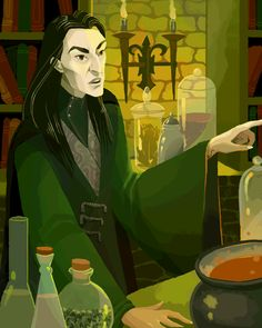 Snape. I really love him.