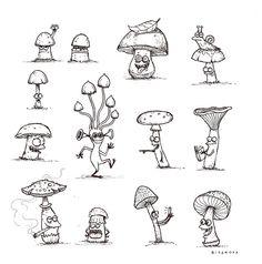Aleksei Bitskoff. Visual Art and Illustrations.