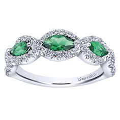 Gabriel & Co.-Voted #1 Most Preferred Fine Jewelry and Bridal Brand- 14k White Gold Lusso Color Fashion Ladies