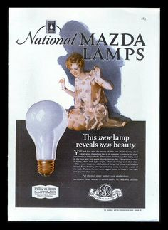 1928 MAZDA LAMPS  $10.95