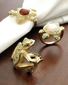 Eclectic Napkin Rings