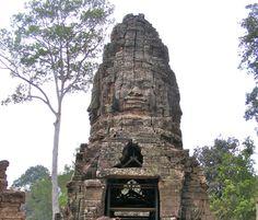 At Cambodia Angkor Wat..