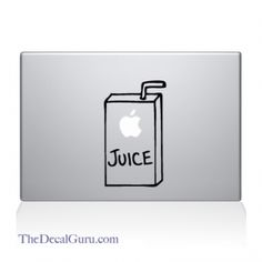 Apple Juice Macbook Decal