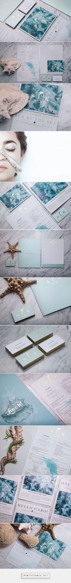 SUR Beach House Retreat Branding by Daniel Barba | Fivestar Branding Agency – Design and Branding Agency & Curated Inspiration Gallery