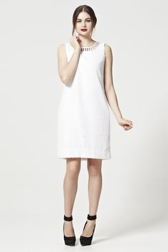 NECKIT RALPH Dress SOFT SPOT Archive Seasons Trelise Cooper-Dresses Full length, cocktail and everything in between. Shop dresses from world renowned designer, Trelise Cooper. Shop online with free worldwide shipping and easy returns. White Dress, Spring, Dresses, Design, Fashion, Vestidos, Moda, Fashion Styles