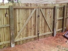 Wood Fence Door Building A Fence Gate Wood Fence Gate Cheap Driveway Gate Ideas Wood Gate Designs Steel Gates Building A Fence Gate Eye Catching Wood Wood Fence Rolling Gate Hardware Kit Building A Wooden Gate, Wooden Fence Gate, Wood Privacy Fence, Fence Gate Design, Fence Doors, Fence Gates, Cheap Driveway Gates, Modern Wood Fence, Gate Hinges