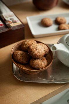 Ciasteczka z herbatą Earl Grey – White Plate