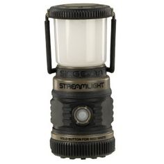 The Streamlight Siege AA Lantern is a smaller version of the popular Siege lantern. This more compact model measures only tall and runs on AA alkaline batteries. The Siege AA lantern features a bright white LED with 3 brightness levels and two red Camping Lanterns, Camping Lights, Siege Camping, Cell Model, Cabin Tent, The Siege, Led Lantern, Outdoor Lantern, Red Led