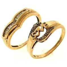 10kt Gold Rings, 2 Pieces http://www.propertyroom.com/listing.aspx?l=9682015