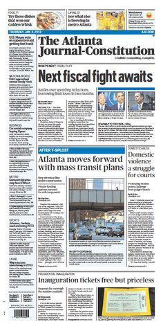 The Atlanta Journal-Constitution: Jan. 3, 2013