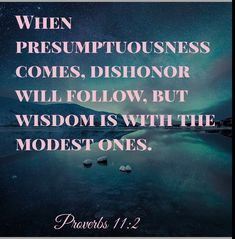 Proverbs 11:2 Proverbs 11 2, Bible Quotes, Wisdom, God, Movies, Movie Posters, Life, Dios, Films