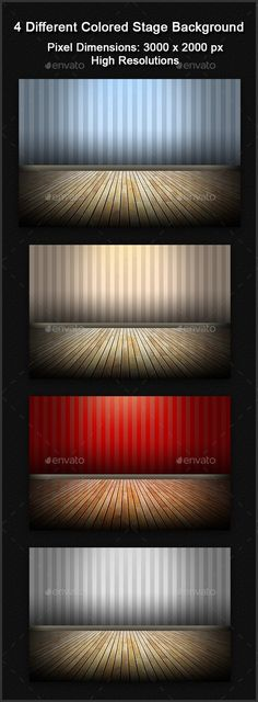 Buy 4 Different Colored Stage Background by graphicriverbd on GraphicRiver. This stage backgrounds is for your pc background/web/personal/mockup etc. Stage Background, Motion Backgrounds, Motion Blur, Digital Technology, Business Flyer, Different, 3d Design, Creative Business, Mockup